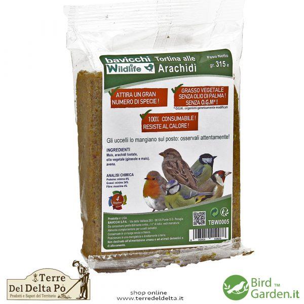 tortina arachidi BirdGarden.it