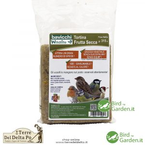 tortina frutta secca BirdGarden.it