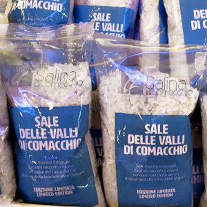 Sale di Comacchio, Sale delle Valli di Comacchio