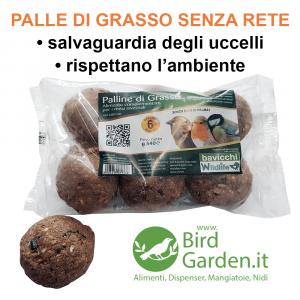 PALLE DI GRASSO SENZA RETE