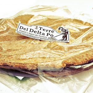"""Piadina Piadina Artigianale Al Farro 3 pezzi """"Terre Del Delta Po 1951"""""""
