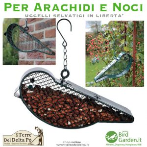 dispenser arachidi e noci - www.birdgarden.it