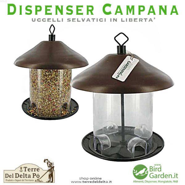 dispenser campana - birdgarden.it
