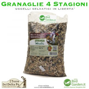 mix granaglie 4 stagioni superior - birdgarden.it