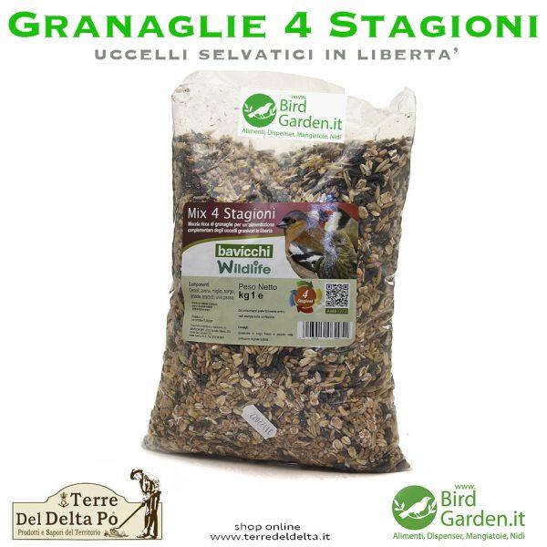 mix granaglie 4 stagioni superior - birdgarden.it