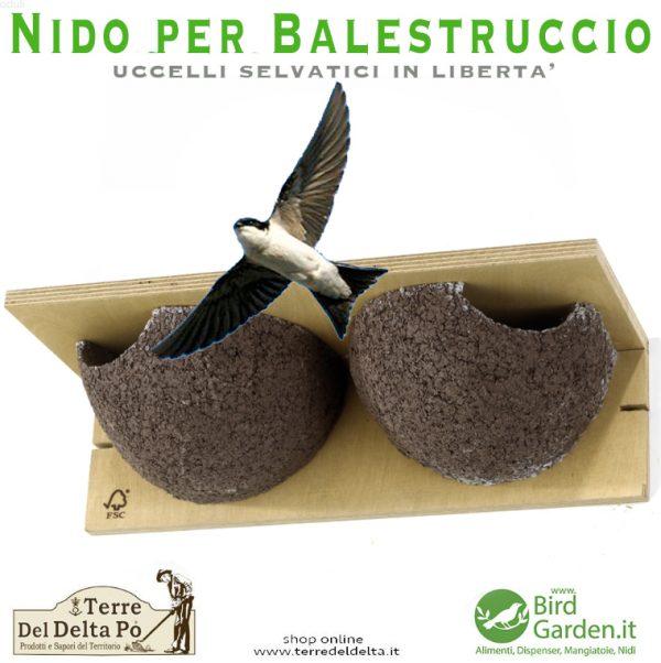 nido per balestruccio - birdgarden.it