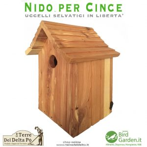 nido per cince - BirdGarden.it