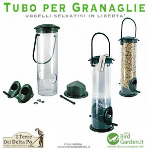 tubo per granaglie - birdgarden.it