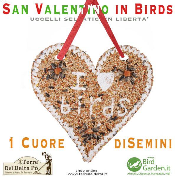 un cuore di semini www.birdgarden.it