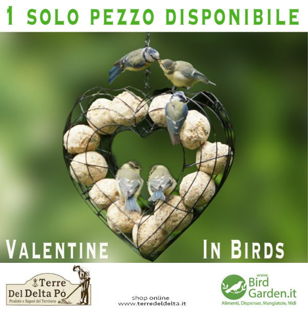 un cuore di palline - www,birdgarden.it