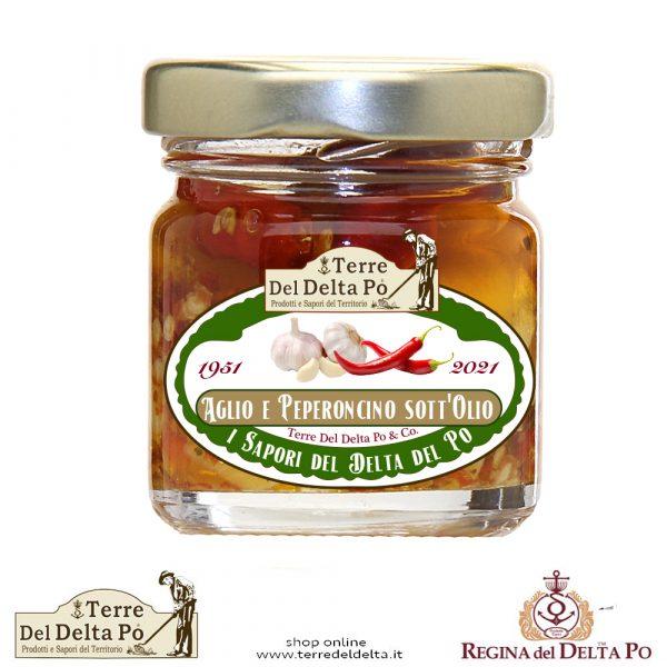 aglio e peperoncino sott'olio terre del delta po
